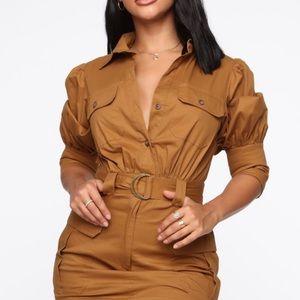 FN Puff Sleeve Dress 🍁 🍂
